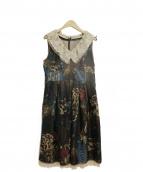 Lois CRAYON(ロイスクレヨン)の古着「ノースリーブワンピース」|マルチカラー