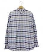BROOKS BROTHERS Red Fleece(ブルックスブラザーズレッドフリース)の古着「チェックBDシャツ」|ブルー×ホワイト