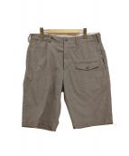 Engineered Garments(エンジニアードガーメンツ)の古着「ハーフパンツ」|ブラウン