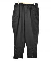 BLACK COMME des GARCONS(ブラックコムデギャルソン)の古着「テーパードパンツ」 ブラック