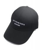 DROLE DE MONSIEUR(ドロールドムッシュ)の古着「NFPM Baseball Cap」 ブラック