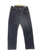 PHIGVEL(フィグベル)の古着「DENIM PANTS GENUINE」 インディゴ