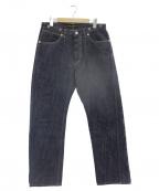PHIGVEL(フィグベル)の古着「DENIM PANTS GENUINE」|インディゴ