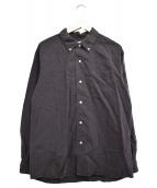PHIGVEL(フィグベル)の古着「シアサッカーボタンダウンシャツ」 スミクロ