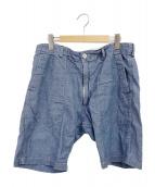 Engineered Garments(エンジニアードガーメン)の古着「シャンブレーショーツ」|ライトブルー