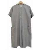 MHL(エムエイチエル)の古着「シャツワンピース」|グレー