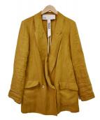 TICCA(ティッカ)の古着「19SSソフトジャケット」|マスタード