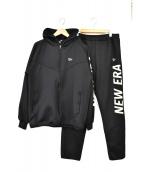New Era(ニューエラ)の古着「セットアップジャージ」|ブラック