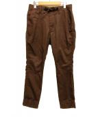 ()の古着「テーパードパンツ」 ブラウン