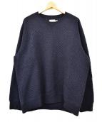 Brooks Brothers(ブルックスブラザーズ)の古着「スウェットシャツ」|ネイビー