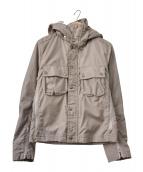 C.P COMPANY(シーピーカンパニ)の古着「ゴーグルジャケット」|ベージュ