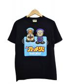 A BATHING APE(アベイシングエイプ)の古着「プリントTシャツ」|ブラック