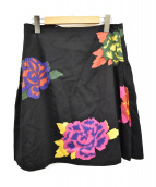 marimekko(マリメッコ)の古着「スカート」|ブラック