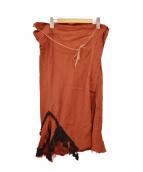 TOGA(トーガ)の古着「巻きスカート」|ブラウン