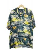 HUF(ハフ)の古着「アロハシャツ」|グリーン