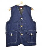 WORKERS(ワーカーズ)の古着「デニムベスト」|インディゴ
