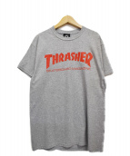THRASHER(スラッシャ)の古着「プリントTシャツ」|グレー