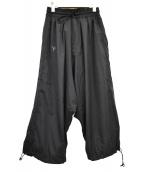Y-3(ワイスリー)の古着「ADIZERO PANTS」 ブラック