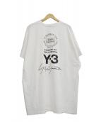 Y-3(ワイスリー)の古着「M SS TEE STREET」|ホワイト×ブラック