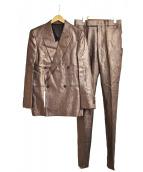 Paul Smith(ポールスミス)の古着「セットアップスーツ」 ブラウン