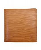 LOUIS VUITTON(ルイヴィトン)の古着「2つ折り財布」|オレンジ