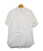 COMME des GARCONS SHIRT(コムデギャルソンシャツ)の古着「S/Sコットンシャツ」|ホワイト