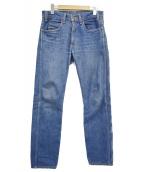 LEVIS VINTAGE CLOTHING(リーバイス ヴィンテージ クロージング)の古着「復刻606デニムパンツ」 ライトインディゴ