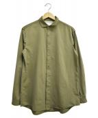 CURLY(カーリー)の古着「長袖シャツ」|オリーブ