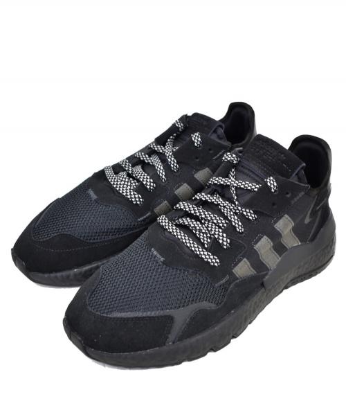 adidas(アディダス)adidas (アディダス) NITE JOGGER ブラック サイズ:28.0cm 未使用品の古着・服飾アイテム