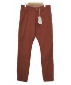 bukht(ブフト)の古着「パンツ」 レッド