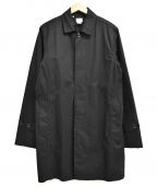 DELUXE(デラックス)の古着「比翼コート」|ブラック