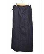 SOU・SOU(ソウソウ)の古着「ラップスカート」|ネイビー