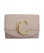 Chloe(クロエ)の古着「3つ折り財布」 グレー