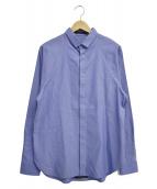 ato(アトウ)の古着「L/Sシャツ」|サックスブルー