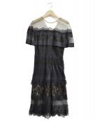 TADASHI SHOJI(タダシ ショージ)の古着「ドレス」|ブラック