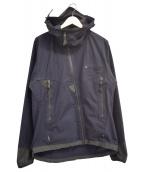 KLATTERMUSEN(クレッタルムーセン)の古着「フーデッドジャケット」|ネイビー