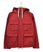 SOFAR(ソーファー)の古着「フーデッドジャケット」|レッド