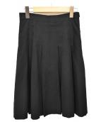 MHL(エムエイチエル)の古着「プリーツスカート」|ブラック