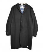 BEDWIN(ベドウィン)の古着「チェスターコート」|ブラック