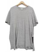 UNUSED(アンユーズド)の古着「スリットTシャツ」|グレー