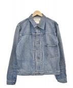REMI RELIEF(レミレリーフ)の古着「デニムジャケット」|インディゴ