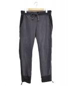 REMI RELIEF(レミレリーフ)の古着「加工スウェットパンツ」 グレー