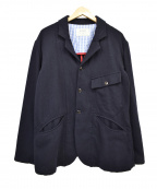 KATO(カトー)の古着「ウールジャケット」|ネイビー