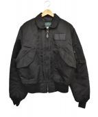 SPIEWAK(スピワック)の古着「ミリタリーブルゾン」|ブラック