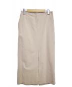 Deuxieme Classe(ドゥズィエムクラス)の古着「エレガントタイトスカート」|ベージュ