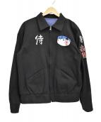 SAMURAI JEANS(サムライジーンズ)の古着「大阪ベドジャン」|ブラック
