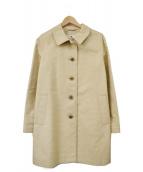 OLD ENGLAND(オールドイングランド)の古着「ゴム引きステンカラーコート」|ベージュ