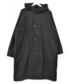 Luis(ルイス)の古着「オーバーフードコート」|ブラック