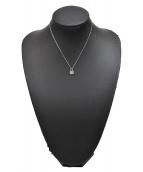 Tiffany & Co.(ティファニー)の古着「パドロックモチーフネックレス」|シルバー