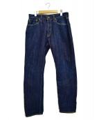 BRU NA BOINNE(ブルーナボイン)の古着「フェリシンデニムパンツ」|インディゴ
